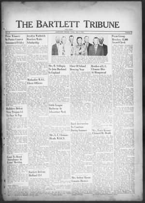 Primary view of object titled 'The Bartlett Tribune and News (Bartlett, Tex.), Vol. 66, No. 26, Ed. 1, Friday, May 8, 1953'.
