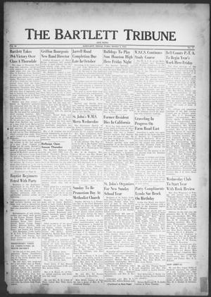 Primary view of object titled 'The Bartlett Tribune and News (Bartlett, Tex.), Vol. 66, No. 47, Ed. 1, Friday, October 2, 1953'.