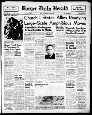 Borger Daily Herald (Borger, Tex.), Vol. 17, No. 169, Ed. 1 Tuesday, June 8, 1943
