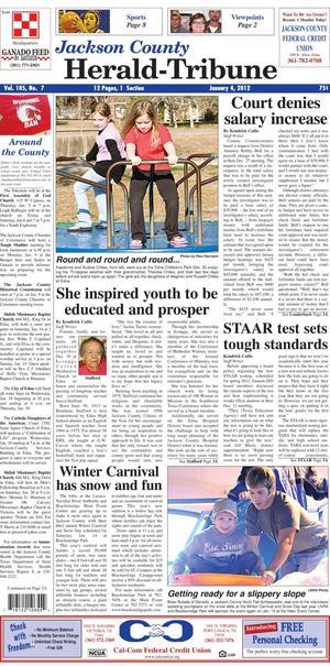 Jackson County Herald-Tribune (Edna, Tex.), Vol. 105, No. 7, Ed. 1 Wednesday, January 4, 2012