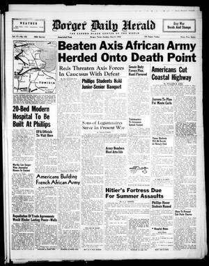 Borger Daily Herald (Borger, Tex.), Vol. 17, No. 143, Ed. 1 Sunday, May 9, 1943