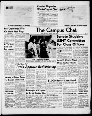 Primary view of object titled 'The Campus Chat (Denton, Tex.), Vol. 47, No. 38, Ed. 1 Friday, March 6, 1964'.