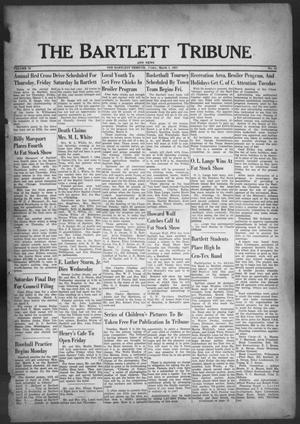 Primary view of object titled 'The Bartlett Tribune and News (Bartlett, Tex.), Vol. 70, No. 18, Ed. 1, Friday, March 1, 1957'.