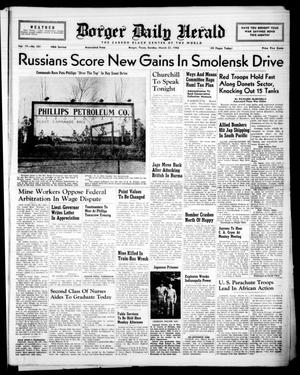 Borger Daily Herald (Borger, Tex.), Vol. 17, No. 101, Ed. 1 Sunday, March 21, 1943