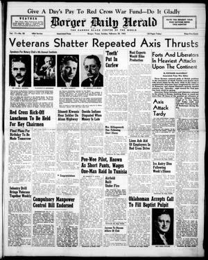 Borger Daily Herald (Borger, Tex.), Vol. 17, No. 83, Ed. 1 Sunday, February 28, 1943