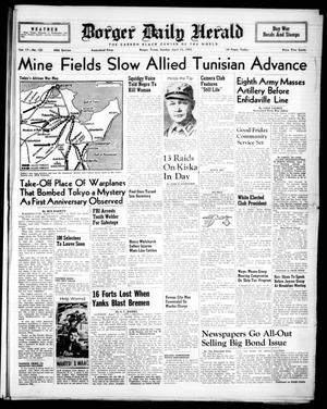 Borger Daily Herald (Borger, Tex.), Vol. 17, No. 125, Ed. 1 Sunday, April 18, 1943