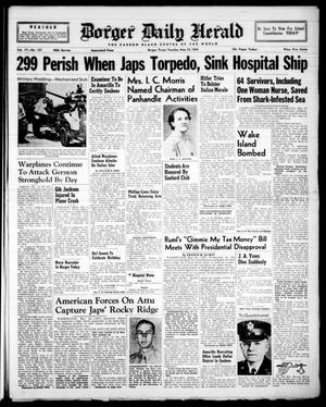 Borger Daily Herald (Borger, Tex.), Vol. 17, No. 151, Ed. 1 Tuesday, May 18, 1943