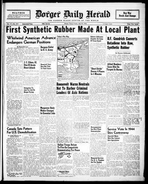 Borger Daily Herald (Borger, Tex.), Vol. 17, No. 214, Ed. 1 Friday, July 30, 1943