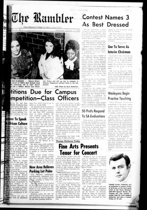 The Rambler (Fort Worth, Tex.), Vol. 44, No. 16, Ed. 1 Wednesday, February 11, 1970