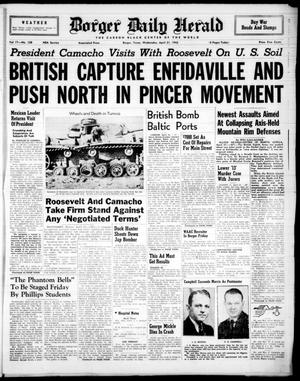Borger Daily Herald (Borger, Tex.), Vol. 17, No. 128, Ed. 1 Wednesday, April 21, 1943