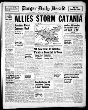Borger Daily Herald (Borger, Tex.), Vol. 17, No. 200, Ed. 1 Wednesday, July 14, 1943