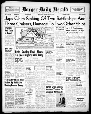 Primary view of object titled 'Borger Daily Herald (Borger, Tex.), Vol. 17, No. 60, Ed. 1 Monday, February 1, 1943'.