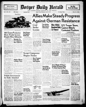 Borger Daily Herald (Borger, Tex.), Vol. 17, No. 134, Ed. 1 Wednesday, April 28, 1943