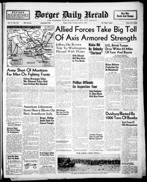 Borger Daily Herald (Borger, Tex.), Vol. 17, No. 133, Ed. 1 Tuesday, April 27, 1943