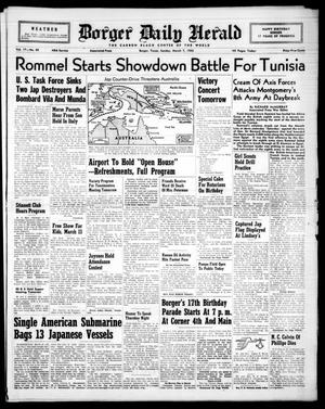 Borger Daily Herald (Borger, Tex.), Vol. 17, No. 89, Ed. 1 Sunday, March 7, 1943