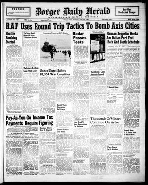 Borger Daily Herald (Borger, Tex.), Vol. 17, No. 183, Ed. 1 Thursday, June 24, 1943