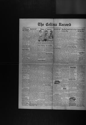 Primary view of object titled 'The Celina Record (Celina, Tex.), Vol. 51, No. 28, Ed. 1 Thursday, February 19, 1953'.