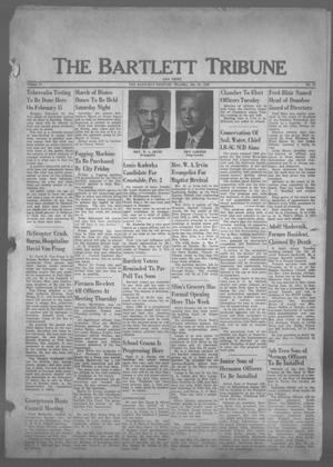 Primary view of object titled 'The Bartlett Tribune and News (Bartlett, Tex.), Vol. 73, No. 11, Ed. 1, Thursday, January 21, 1960'.