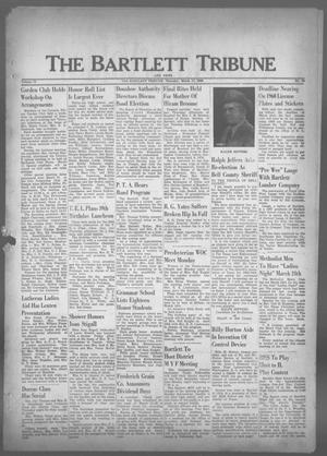 Primary view of object titled 'The Bartlett Tribune and News (Bartlett, Tex.), Vol. 73, No. 19, Ed. 1, Thursday, March 17, 1960'.
