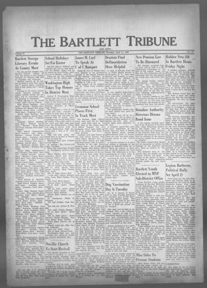 Primary view of object titled 'The Bartlett Tribune and News (Bartlett, Tex.), Vol. 73, No. 23, Ed. 1, Thursday, April 14, 1960'.