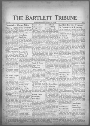 Primary view of object titled 'The Bartlett Tribune and News (Bartlett, Tex.), Vol. 73, No. 27, Ed. 1, Thursday, May 12, 1960'.