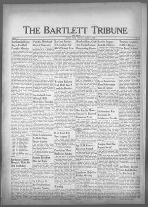 Primary view of object titled 'The Bartlett Tribune and News (Bartlett, Tex.), Vol. 73, No. 40, Ed. 1, Thursday, August 11, 1960'.