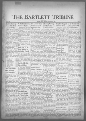 Primary view of object titled 'The Bartlett Tribune and News (Bartlett, Tex.), Vol. 73, No. 46, Ed. 1, Thursday, September 22, 1960'.