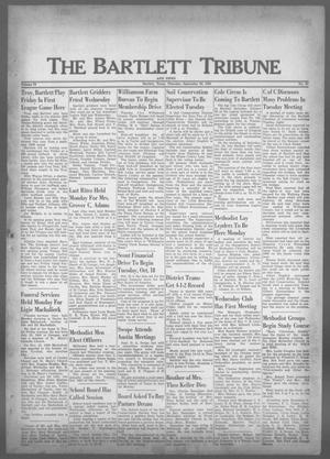Primary view of object titled 'The Bartlett Tribune and News (Bartlett, Tex.), Vol. 73, No. 47, Ed. 1, Thursday, September 29, 1960'.