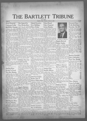 Primary view of object titled 'The Bartlett Tribune and News (Bartlett, Tex.), Vol. 73, No. 49, Ed. 1, Thursday, October 13, 1960'.