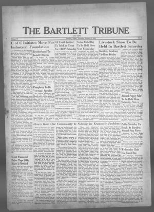 Primary view of object titled 'The Bartlett Tribune and News (Bartlett, Tex.), Vol. 73, No. 51, Ed. 1, Thursday, October 27, 1960'.