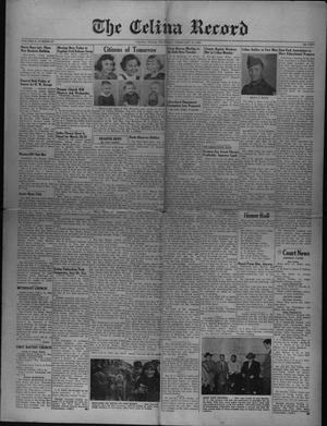 Primary view of The Celina Record (Celina, Tex.), Vol. 51, No. 27, Ed. 1 Thursday, February 12, 1953