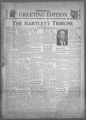 Primary view of object titled 'The Bartlett Tribune and News (Bartlett, Tex.), Vol. 74, No. 8, Ed. 1, Thursday, December 22, 1960'.