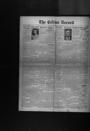 Primary view of object titled 'The Celina Record (Celina, Tex.), Vol. 52, No. 6, Ed. 1 Thursday, September 17, 1953'.