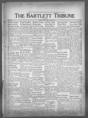 Primary view of object titled 'The Bartlett Tribune and News (Bartlett, Tex.), Vol. 74, No. 36, Ed. 1, Thursday, July 13, 1961'.