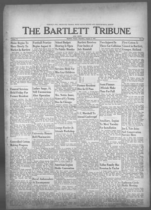 Primary view of object titled 'The Bartlett Tribune and News (Bartlett, Tex.), Vol. 74, No. 39, Ed. 1, Thursday, August 3, 1961'.