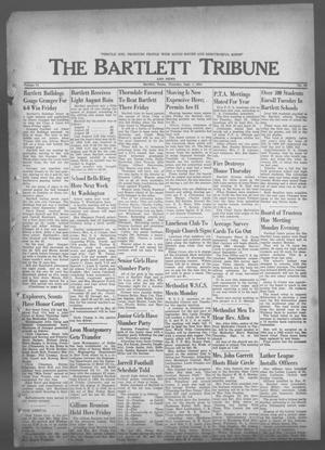 Primary view of object titled 'The Bartlett Tribune and News (Bartlett, Tex.), Vol. 74, No. 44, Ed. 1, Thursday, September 7, 1961'.