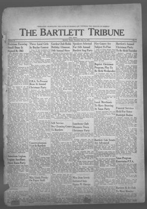 Primary view of object titled 'The Bartlett Tribune and News (Bartlett, Tex.), Vol. 75, No. 7, Ed. 1, Thursday, December 14, 1961'.