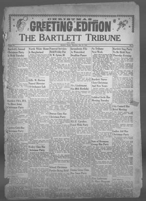 Primary view of object titled 'The Bartlett Tribune and News (Bartlett, Tex.), Vol. 75, No. 8, Ed. 1, Thursday, December 21, 1961'.