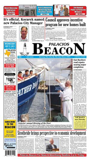 Palacios Beacon (Palacios, Tex.), Vol. 106, No. 29, Ed. 1 Wednesday, July 17, 2013