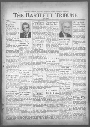 Primary view of object titled 'The Bartlett Tribune and News (Bartlett, Tex.), Vol. 75, No. 25, Ed. 1, Thursday, April 26, 1962'.