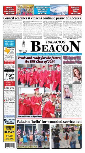Palacios Beacon (Palacios, Tex.), Vol. 106, No. 23, Ed. 1 Wednesday, June 5, 2013