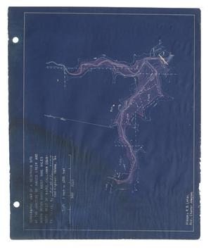 Primary view of object titled '[Topographic Reservoir Map #2]'.