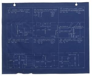 Primary view of object titled '[Survey Blueprint #9]'.