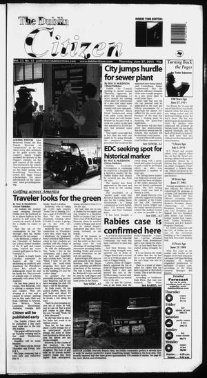 Primary view of object titled 'The Dublin Citizen (Dublin, Tex.), Vol. 23, No. 43, Ed. 1 Thursday, June 27, 2013'.