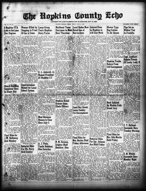 Primary view of object titled 'The Hopkins County Echo (Sulphur Springs, Tex.), Vol. 74, No. 26, Ed. 1 Friday, July 1, 1949'.