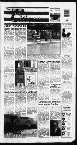 Primary view of object titled 'The Dublin Citizen (Dublin, Tex.), Vol. 23, No. 38, Ed. 1 Thursday, May 23, 2013'.