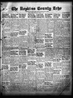 Primary view of object titled 'The Hopkins County Echo (Sulphur Springs, Tex.), Vol. 74, No. 3, Ed. 1 Friday, January 21, 1949'.