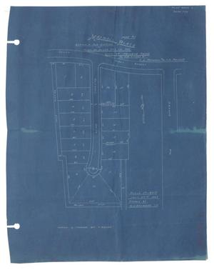 Primary view of object titled 'Map of Maxwell Place Being a Subdivision of Part of Block 207 in the City of Abilene, Texas [#1]'.