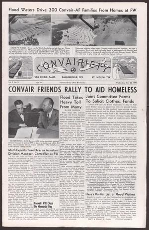 Primary view of object titled 'Convairiety, Volume 2, Number 11, Wednesday, May 25, 1949'.