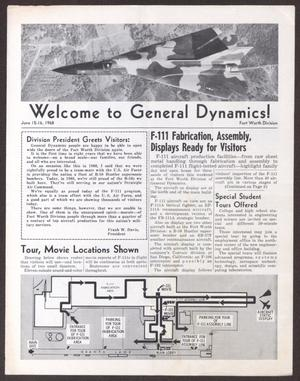 Primary view of object titled 'Welcome to General Dynamics!'.